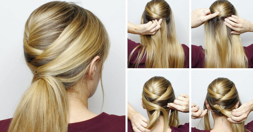 Art Party Hairstyles for a Long Hair