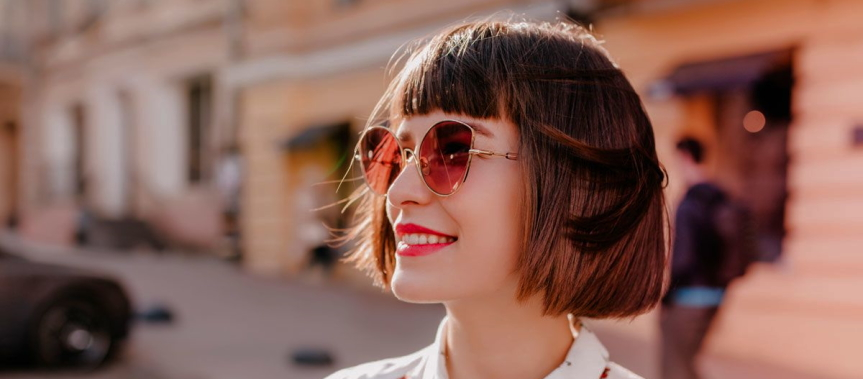 How Do You Style a Short Bob With Bangs?